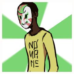 Le geek de brousse masqué