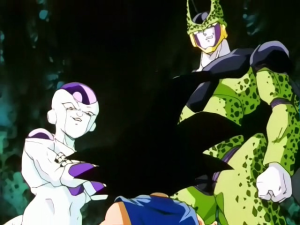 Freeza et Cell, en apparition guest star pour le fan service... -_- #Pathetique