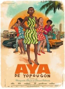 Côte d'Ivoire, fin des années 1970. Aya, 19ans, vit à Yopougon, un quartier populaire d'Abidjan